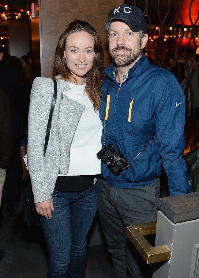 NEW YORK, NY - MAY 29: Olivia Wilde and Jason Sudeikis attend the ''Supermensch: The Legend Of Shep Gordon' screening at The Wayfarer on May 29, 2014 in New York City.