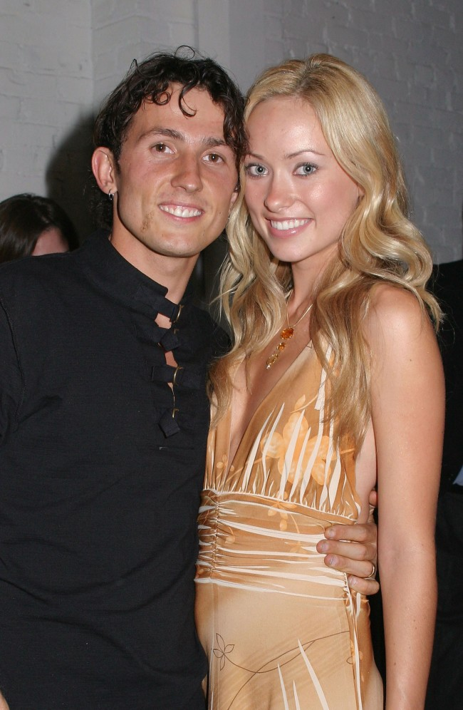 HOLLYWOOD - OCTOBER 13: Actress Olivia Wilde and husband, filmaker Tao Ruspoli attend the Fox 'Skin' Premiere Party on October 13, 2003 in Hollywood, California.