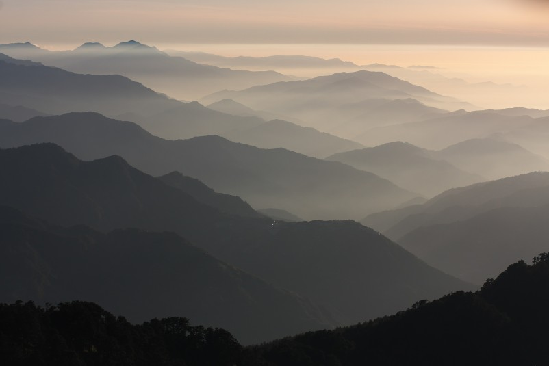 Hehuanshan in Taiwan 1