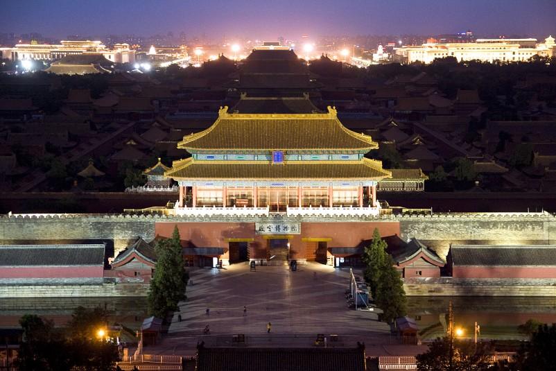 Beijing Jingshan park 1