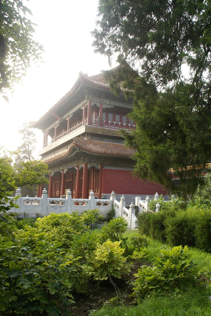 Beijing Jingshan park 9