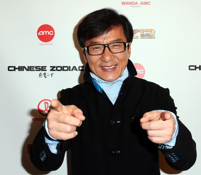 Caption:CENTURY CITY, CA - OCTOBER 16: Actor Jackie Chan attends the premiere of Wanda and AMC releasing's 'Chinese Zodiac' at the AMC Century City 15 theater on October 16, 2013 in Century City, California. (Photo by Frederick M. Brown/Getty Images)