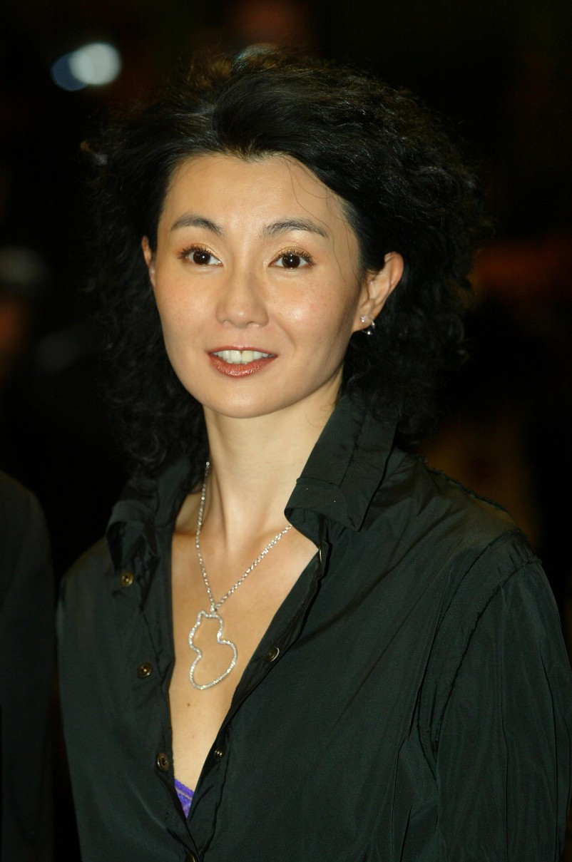 Beautiful photos of the Chinese actress, Maggie Cheung