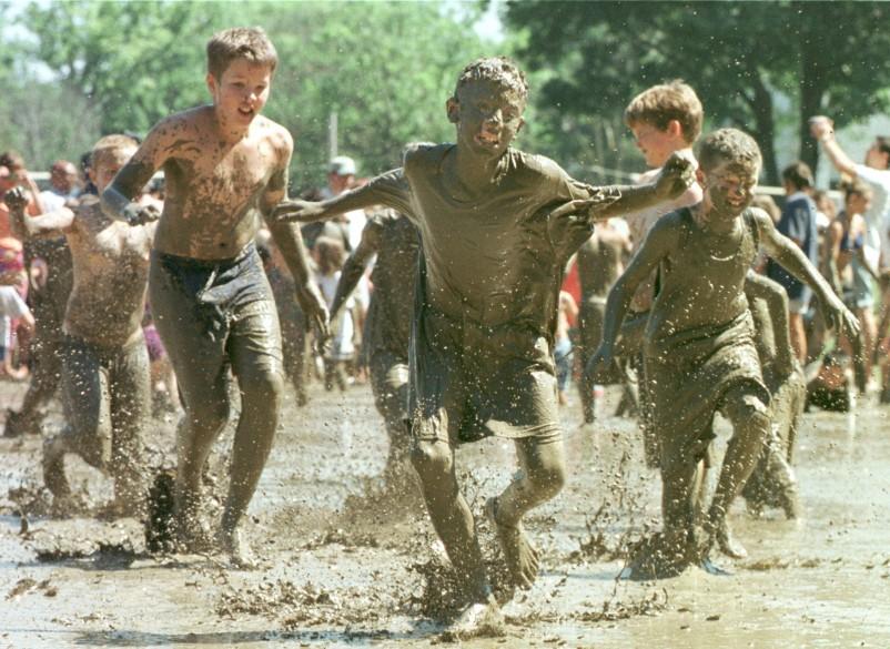 celebration of Mud Day 1