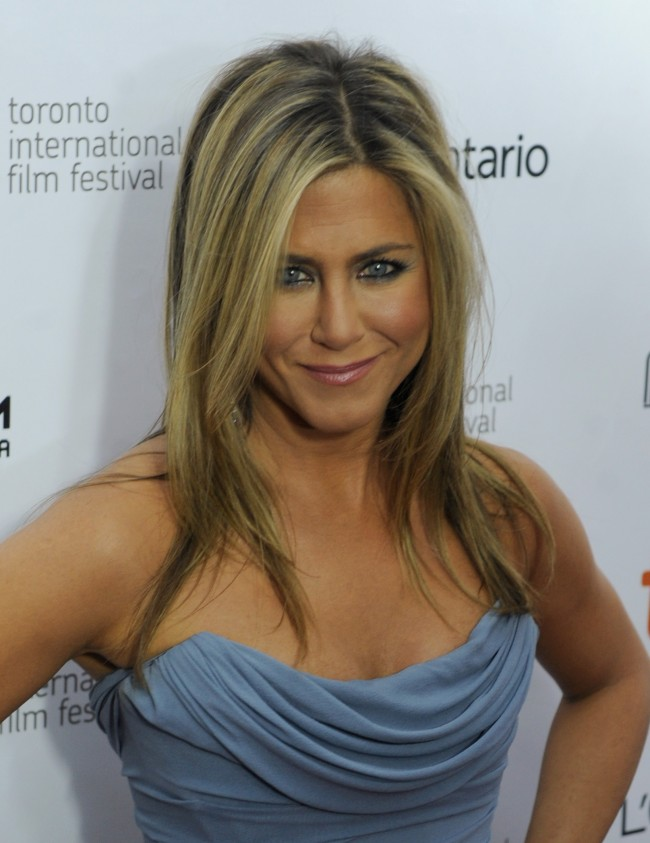 TORONTO, ON - SEPTEMBER 14: Actress/producer Jennifer Aniston arrives at the 'Life Of Crime' Premiere during the 2013 Toronto International Film Festival at Roy Thomson Hall on September 14, 2013 in Toronto, Canada.