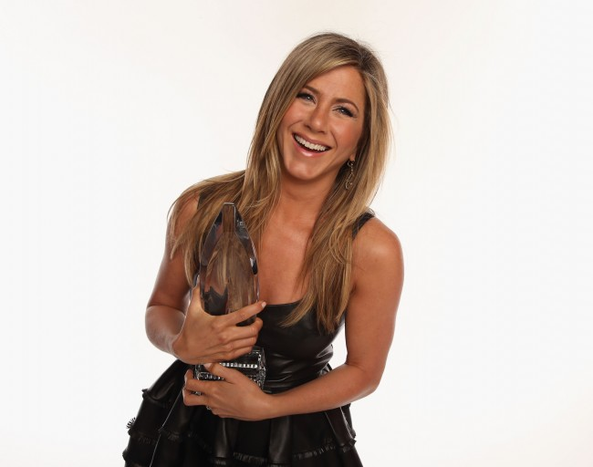 LOS ANGELES, CA - JANUARY 09: Actress Jennifer Aniston poses for a portrait during the 39th Annual People's Choice Awards at Nokia Theatre L.A. Live on January 9, 2013 in Los Angeles, California.