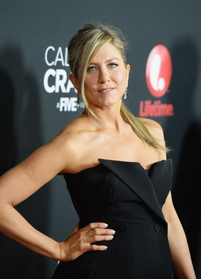 WEST HOLLYWOOD, CA - APRIL 16: Actress Jennifer Aniston attends the premiere of Lifetime's 'Call Me Crazy: A Five Film' at Pacific Design Center on April 16, 2013 in West Hollywood, California.