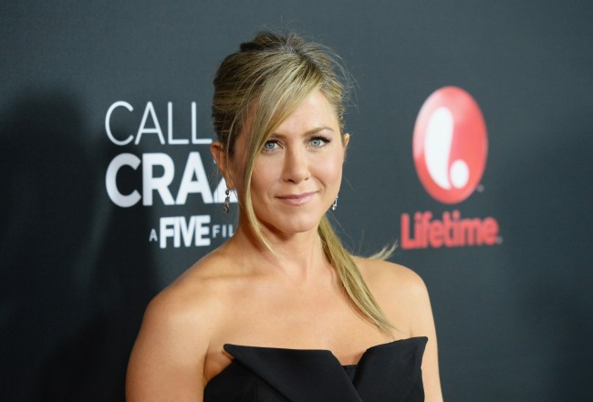 WEST HOLYWOOD, CA - APRIL 16: Actress Jennifer Aniston attends the premiere of Lifetime's 'Call Me Crazy: A Five Film' at Pacific Design Center on April 16, 2013 in West Hollywood, California.