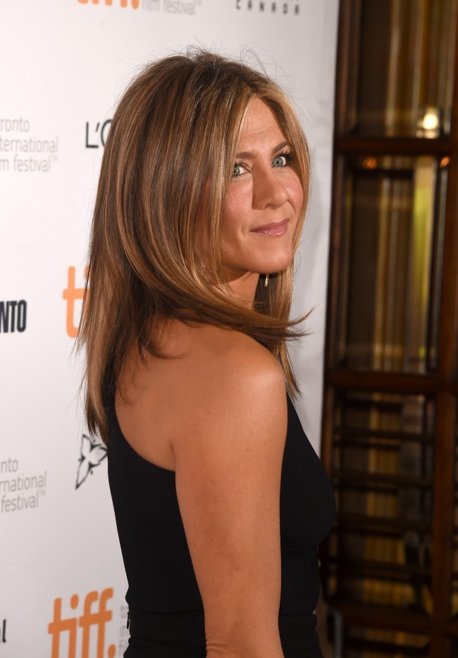 TORONTO, ON - SEPTEMBER 08: Actress/Executive Producer Jennifer Aniston attends the 'Cake' premiere during the 2014 Toronto International Film Festival at The Elgin on September 8, 2014 in Toronto, Canada.