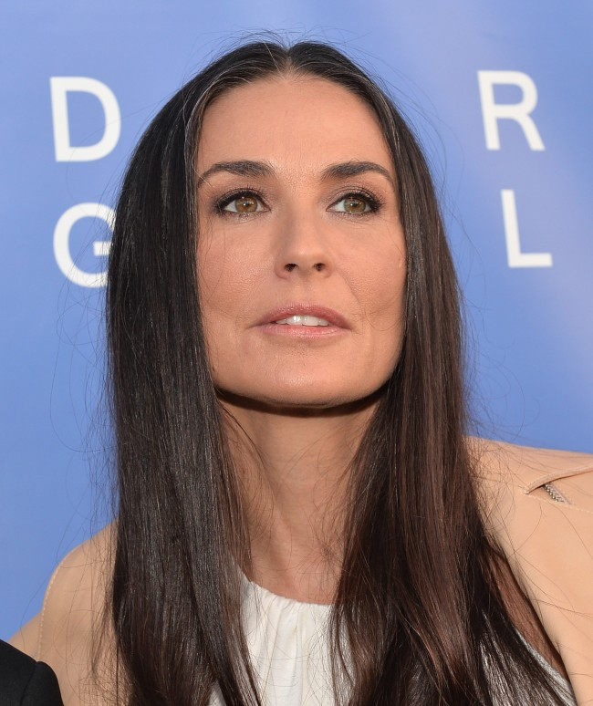 LOS ANGELES, CA - MAY 15: Actress Demi Moore attends the opening of The De Re Gallery on May 15, 2014 in Los Angeles, California.