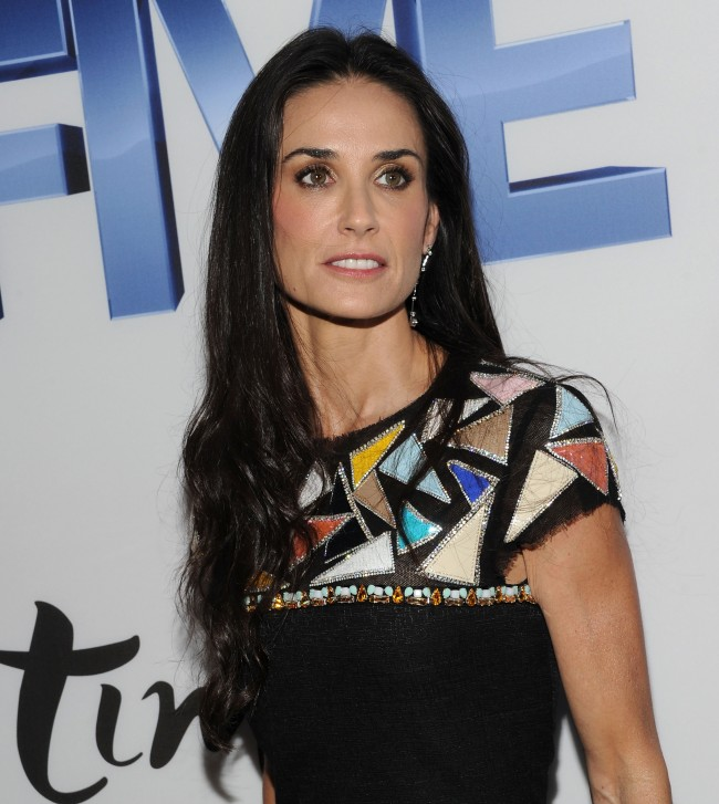 NEW YORK, NY - SEPTEMBER 26: Actress Demi Moore attends the screening of 'Five' at Skylight SOHO on September 26, 2011 in New York City.