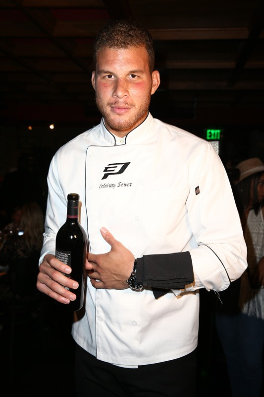 BEIJING, CHINA - JULY 16: NBA player Blake Griffin attends a Take Flight Media Event on July 16, 2013 in Beijing, China
