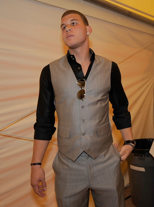 LOS ANGELES, CA - JULY 15: NBA player Blake Griffin arrives at the 2009 ESPY Awards held at Nokia Theatre LA Live on July 15, 2009 in Los Angeles, California. The 17th annual ESPYs will air on Sunday, July 19 at 9PM ET on ESPN.
