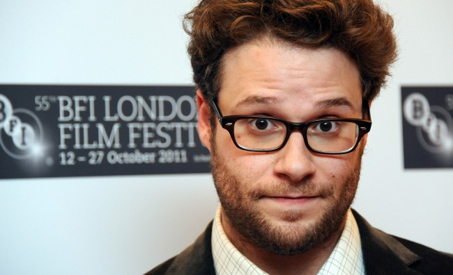 LONDON, UNITED KINGDOM - OCTOBER 13: Seth Rogen attends the premiere of 50/50 at the 55th BFI London Film Festival at Odeon Leicester Square on October 13, 2011 in London, England.