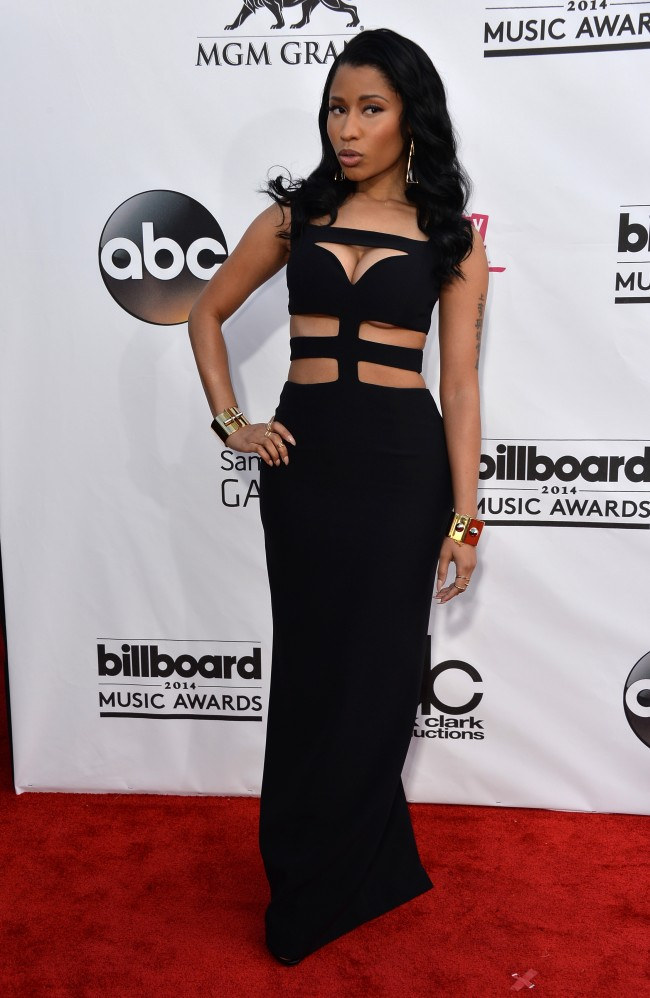 LAS VEGAS, NV - MAY 18: Singer Nicki Minaj attends the 2014 Billboard Music Awards at the MGM Grand Garden Arena on May 18, 2014 in Las Vegas, Nevada.