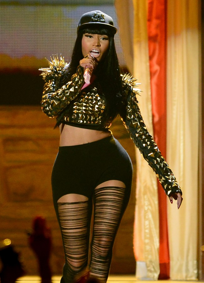 LAS VEGAS, NV - MAY 19: Recording artist Nicki Minaj performs during the 2013 Billboard Music Awards at the MGM Grand Garden Arena on May 19, 2013 in Las Vegas, Nevada.