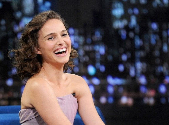 NEW YORK, NY - NOVEMBER 07: Natalie Portman visits 'Late Night With Jimmy Fallon' on November 7, 2013 in New York City.