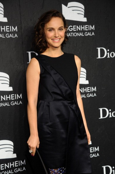 NEW YORK, NY - NOVEMBER 07: Natalie Portman attends the Guggenheim International Gala, made possible by Dior, at the Guggenheim Museum on November 7, 2013 in New York City.