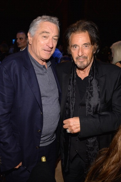 NEW YORK, NY - APRIL 02: Robert De Niro and Al Pacino attend the SeriousFun Children's Network Gala at Cipriani 42nd Street on April 2, 2014 in New York City.