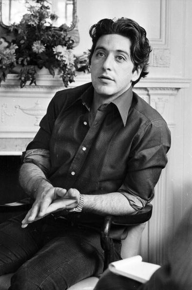 25th March 1974: American actor, Al Pacino, in London. After making his name in The Godfather and Serpico, he was finally awarded an Best Actor Oscar for his role in Scent of a Woman.
