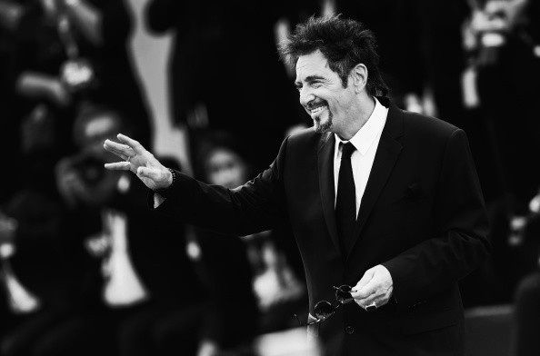 VENICE, ITALY - AUGUST 30: (EDITORS NOTE: Image has been converted to black and white.) Al Pacino attends 'The Humbling' premiere during the 71st Venice Film Festival on August 30, 2014 in Venice, Italy.