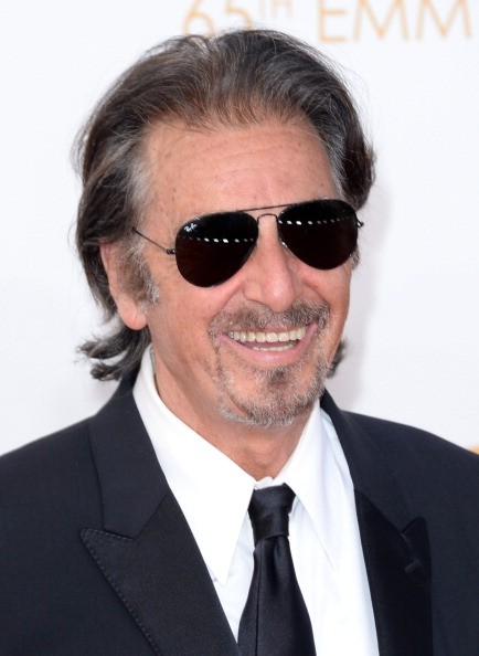 Caption:LOS ANGELES, CA - SEPTEMBER 22: Actor Al Pacino arrives at the 65th Annual Primetime Emmy Awards held at Nokia Theatre L.A. Live on September 22, 2013 in Los Angeles, California.