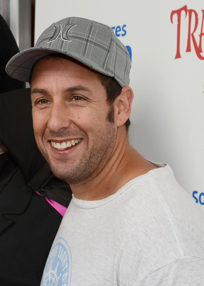LOS ANGELES, CA - SEPTEMBER 22: Actor Adam Sandler attends a screening Of Columbia Pictures and Sony Pictures Animation's 'Hotel Transylvania' at Pacific Theatre at The Grove on September 22, 2012 in Los Angeles, California.