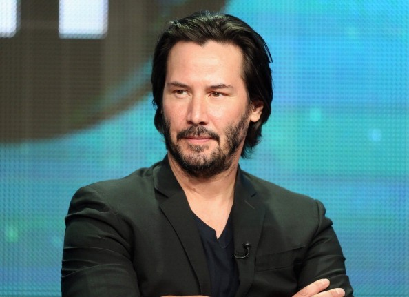 BEVERLY HILLS, CA - AUGUST 06: Host/producer Keanu Reeves speaks onstage during the 'Side by Side' panel at the PBS portion of the 2013 Summer Television Critics Association tour at the Beverly Hilton Hotel on August 6, 2013 in Beverly Hills, California.