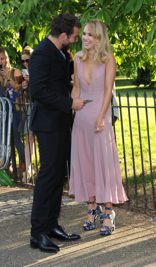 LONDON, ENGLAND - JULY 01: Bradley Cooper and Suki Waterhouse attend the annual Serpentine Galley Summer Party at The Serpentine Gallery on July 1, 2014 in London, England.
