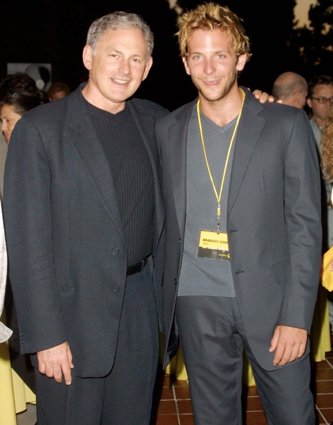 Actors Victor Garber (left) and Bradley Cooper of the television show 'Alias' arrive for the ABC 2001 Summer Press Tour All-Star Party July 23, 2001 in San Marino, CA.