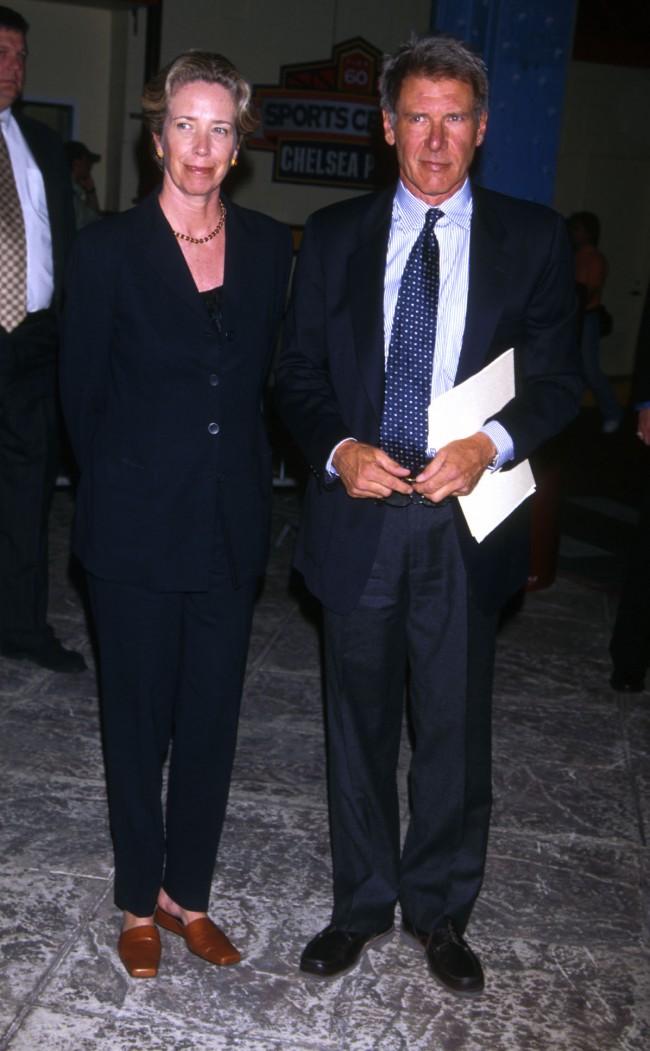 UNDATED FILE PHOTO: Harrison Ford and Melissa Mathison.
