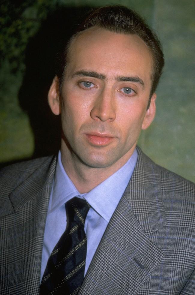 UNDATED FILE PHOTO: Portrait of American actor Nicolas Cage.