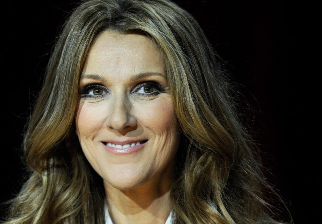 LAS VEGAS, NV - MARCH 15: Singer Celine Dion holds a news conference after she performed during the first night of her new show at The Colosseum at Caesars Palace March 15, 2011 in Las Vegas, Nevada. Dion, who ended a five-year run at The Colosseum in December of 2007, is beginning a three-year residency at the 4,300-seat venue.