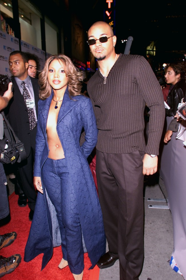 Toni Braxton at MTV Video Music Awards 2000 September 7, 2000