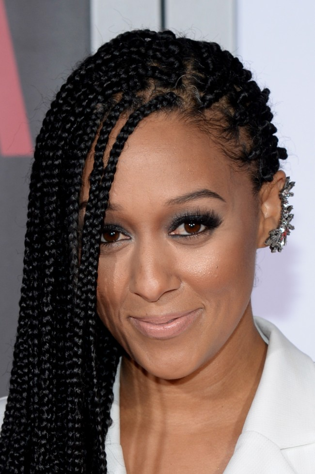 DECEMBER 14: Actress Tia Mowry attends the 'Selma' New York Premiere at Ziegfeld Theater on December 14, 2014 in New York City.