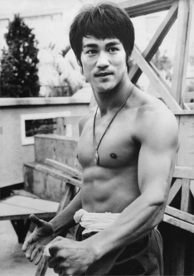 Bruce Lee as a young man.