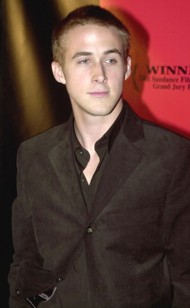 Actor Ryan Gosling attends the premiere of 'The Believer' September 6, 2001 at the Directors Guild of America in Los Angeles, CA.
