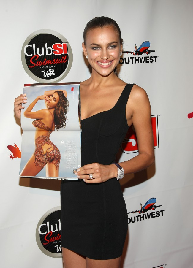 NEW YORK - FEBRUARY 11: Swimsuit model Irina Shayk attends the launch of Sports Illustrated's 2009 Swimsuit Issue at Pranna on February 11, 2009 in New York City.
