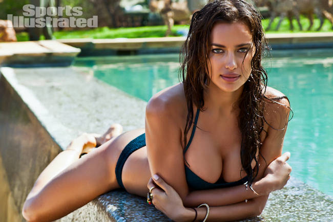 Irina Shayak appears in Sports Illustrated