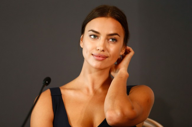 BERLIN, GERMANY - AUGUST 21: Actress Irina Shayk attends the press conference of Paramount Pictures 'HERCULES' at Hotel Adlon on August 21, 2014 in Berlin, Germany.