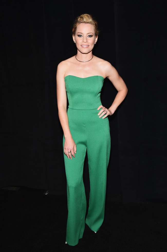 "LAS VEGAS, NV - APRIL 20: Director Elizabeth Banks attends CinemaCon 2015 Gala Opening Night Event: Universal Pictures and Director Elizabeth Banks Invite You to the Industry Premiere of ""Pitch Perfect 2"" at The Colosseum at Caesars Palace during CinemaCon, the official convention of the National Association of Theatre Owners, on April 20, 2015 in Las Vegas, Nevada."