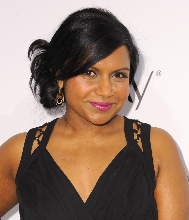 WEST HOLLYWOOD, CA - JANUARY 22: Actress Mindy Kaling attends ELLE's Annual Women in Television Celebration at Sunset Tower on January 22, 2014 in West Hollywood, California.