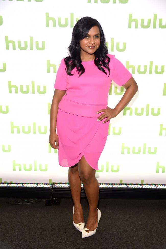 NEW YORK, NY - APRIL 30: Mindy Kaling attends Hulu's Upfront Presentation on April 30, 2014 in New York City.