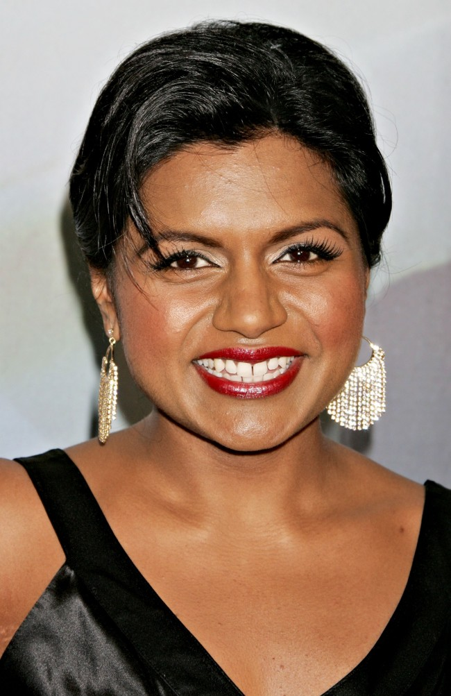 HOLLYWOOD - FEBRUARY 04: Actress Mindy Kaling arrives at the 2006 Writers Guild Awards held at The Hollywood Palladium on February 4, 2006 in Hollywood, California.