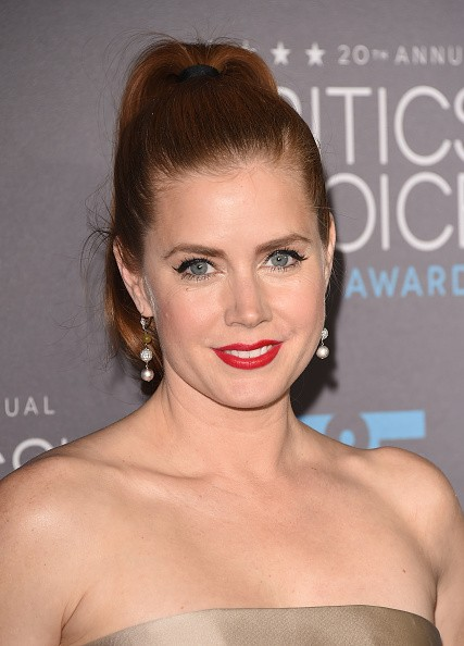 Caption:LOS ANGELES, CA - JANUARY 15: Actress Amy Adams attends the 20th annual Critics' Choice Movie Awards at the Hollywood Palladium on January 15, 2015 in Los Angeles, California. (Photo by Jason Merritt/Getty Images)