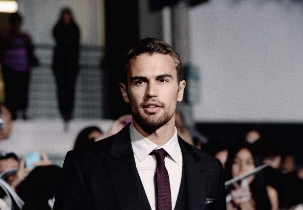 Caption:LOS ANGELES, CA - MARCH 18: (EDITORS NOTE: This image was processed using digital filters) Actor Theo James attends Summit Entertainment's 'Divergent' Premiere at Regency Bruin Theatre on March 18, 2014 in Los Angeles, California. (Photo by Jason Kempin/Getty Images)