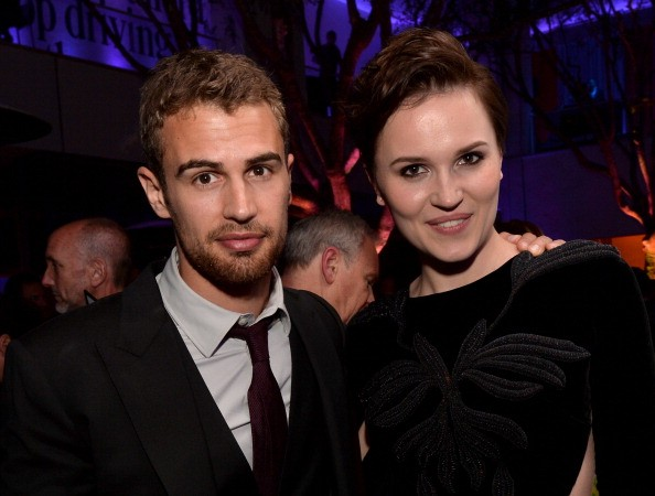 Theo James and Veronica Roth