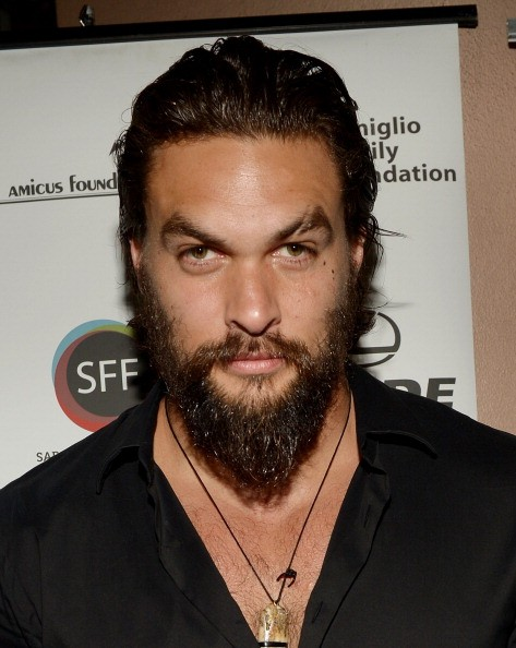 Caption:SARASOTA, FL - APRIL 12: Actor /director Jason Momoa arrives to a screening of 'Road to Paloma' during the Sarasota Film Festival at Regal Cinemas Hollywood Stadium on April 12, 2014 in Sarasota, Florida. (Photo by Gustavo Caballero/Getty Images for 2014 Sarasota Film Festival)