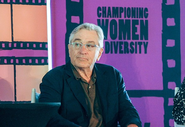Robert De Niro attends a panel discussion of 'Remembering The Artist' at the Crystal Bridges Museum at the Bentonville Film Festival on May 7, 2015 in Bentonville, Arkansas.