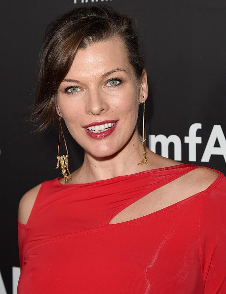 Caption:HOLLYWOOD, CA - OCTOBER 29: amfAR Ambassador Milla Jovovich attends amfAR LA Inspiration Gala honoring Tom Ford at Milk Studios on October 29, 2014 in Hollywood, California. (Photo by Jason Merritt/Getty Images for amfAR)